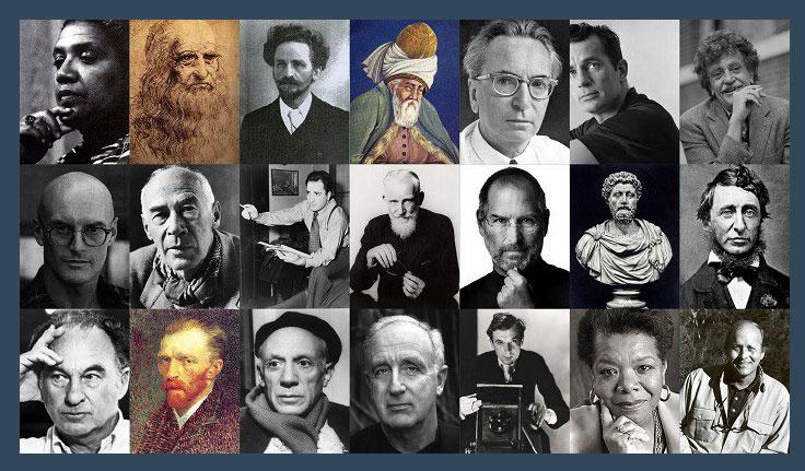 all genius in one photo